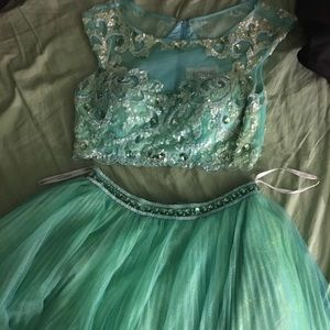 Two Piece Sherri Hill Dress